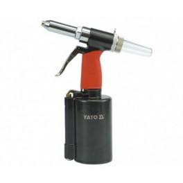 Kniediklis pneumatinis 3,2-6,4 mm / 1389 kg(tinka plieninėm kniedėm) (YT-3618)