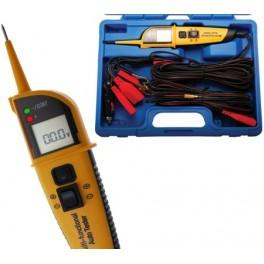 Daugiafunkcinis įtampos testeris su 8 funkcijomis ir skaitmeniniu ekranu BGS-technic 40105