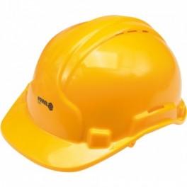 Šalmas apsauginis geltonas VOREL 74193