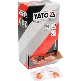 Ausų kamšteliai 34dB (200porų) YATO YT-74510