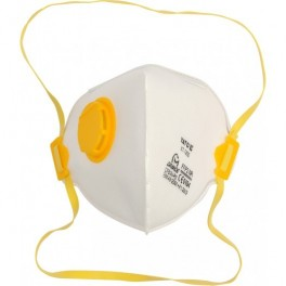 Respiratoriai su vožtuvu FFP2 3vnt. YATO YT-7492