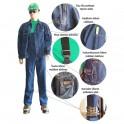 Džinsinis darbo kostiumas Pesso DK2KDZ
