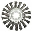 Šepetys disko tipo, stambus plienas 125 x 12 x 22.2mm (ES742125)