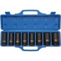 "Smūinės galvutės ilgos 3/4"", 8 vnt. 22-38mm ""Bgs-technic"" (5241)"