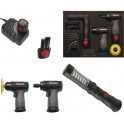"""Akumuliatorinių įrankių rinkinys 5 vnt (tinka į įrankių važimėlius) """"Bgs-technic"""" (4019)"""