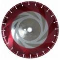 Deimantinis diskas sausam pjovimui 350x10mmx32/25.4H gelžbetoniui, plienui, marmurui, granitui