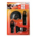 Priedas multifunkciniam įrenginiui Rinkinys 4vnt Multi KW708800