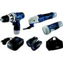 12V akumuliatorijnių įrankių rinkinys Lion Set 1