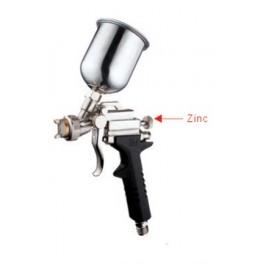 Dažymo pistoletas HVLP Ø0.5mm, mini 250ml. met..bakelis (E-80G1)