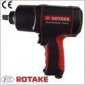 Veržliasukis pneumatinis 1/2` 226l/min 1/4`(F) 7500rpm 860Nm Rotake (RT-5275)