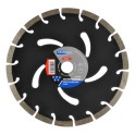 Segmentinis betono pjovimo diskas(turbo) 230mm Kraftdele KD927