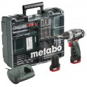 Mobilus meistro rinkinys Metabo POWERMAXX BASIC, 63 PRIEDAI