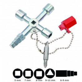"""Įvairių paskirčių raktas """"Bgs-technic"""" (9416)"""