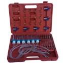 Common rail diagnostinis perpylimo rinkinys dyzeliniams varikliams su 24 adapteriais (HS-A2048)