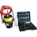 Profesionalus stabdžių sistemos nuorinimo prietaisas su adapteriais (SK2396)