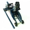 Domkratas 387mm 140mm fiksuojamas 2.5t su ratukais hidraulinis Forsage (TH22501CB)