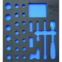 Įrankių dėklas 2/3, tuščias | nuo BGS 4053