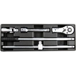 """Įrankių rinkinys į vežimėlius - įrankių rinkinys 3/4"""" galvutėms"""