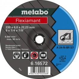 Metalo šlifavimo diskas 125x6x22 A 24-N, Metabo