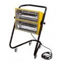 Šildytuvas IR spindulių, elektrinis HALL 3000, 3 kW, Master