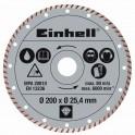 Einhell deimantinis diskas 200x25,4 TURBO