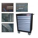 BGS Įrankių spintelė su 7 stalčiais, 293 įrankiais (MEI4090)